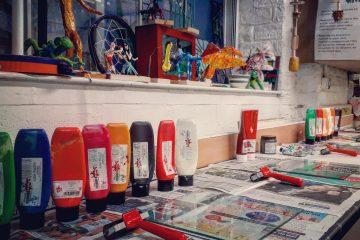 Lino print tools
