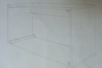 Packing Case - assembly sketch