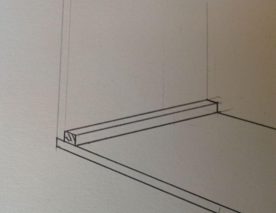 Packing Case - bottom corner