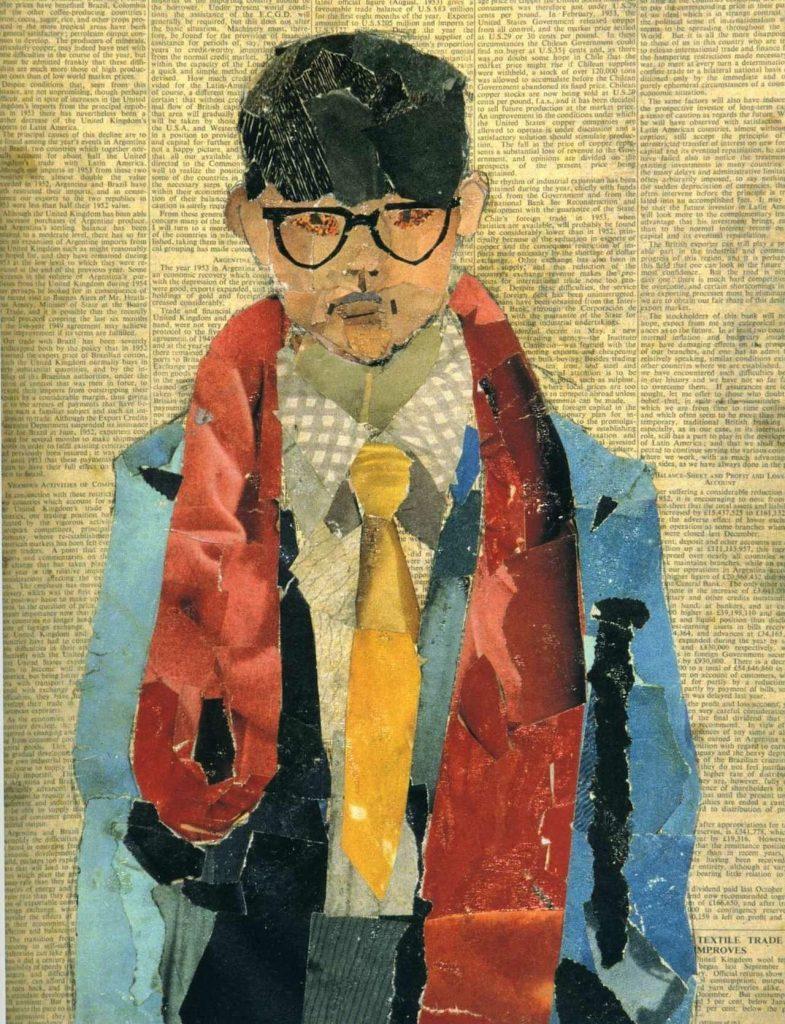 Collage - David Hockney