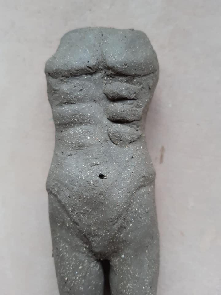 Making a ceramic model