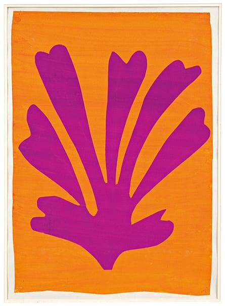 Henri Matisse - Violet Le